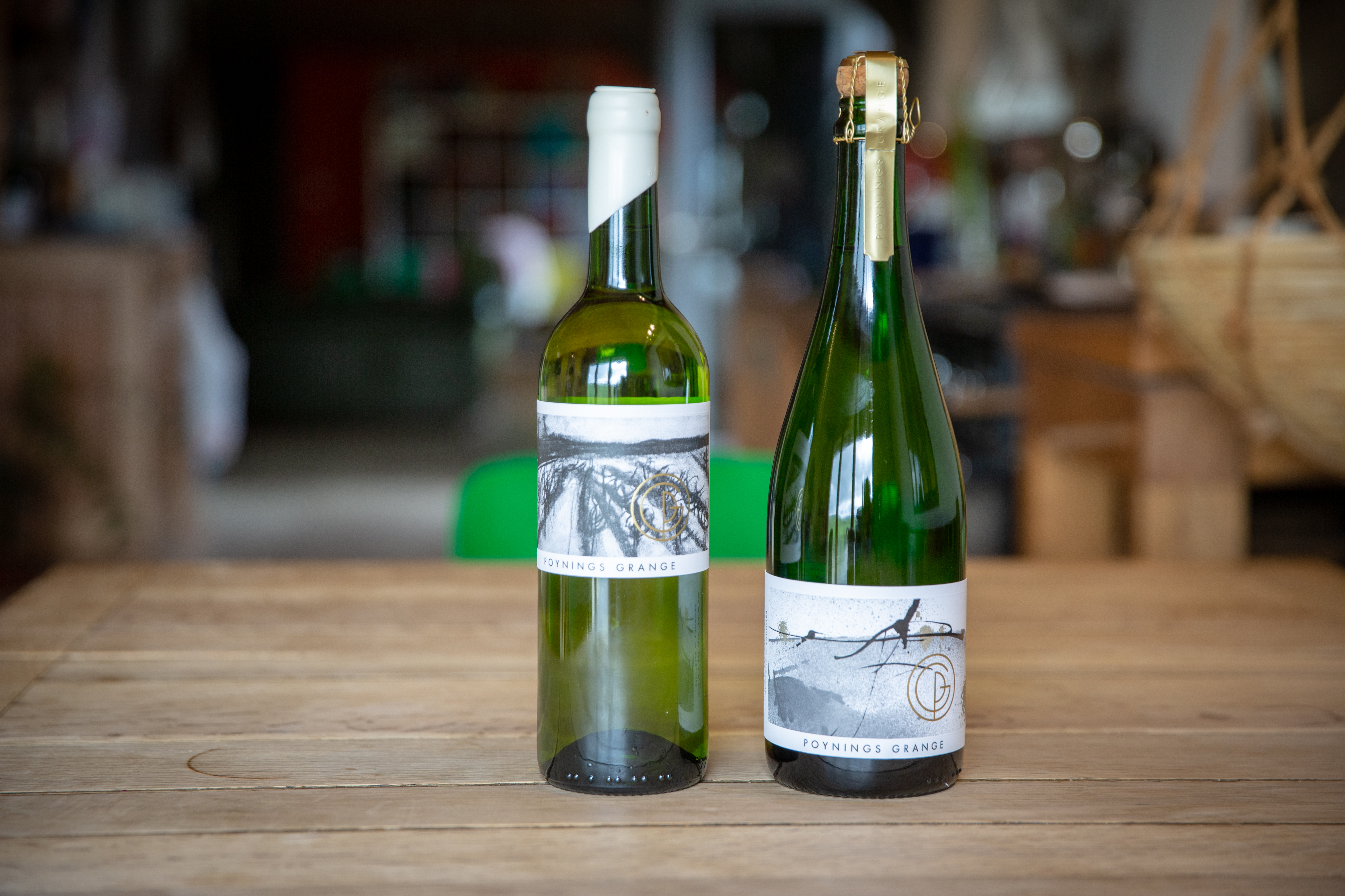 Locally produced Sussex wine