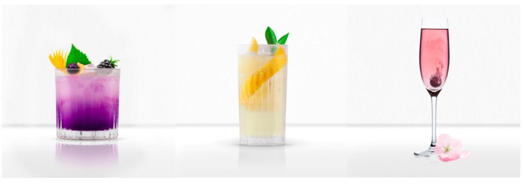 Kokoro Gin Liqueur cocktails x 3