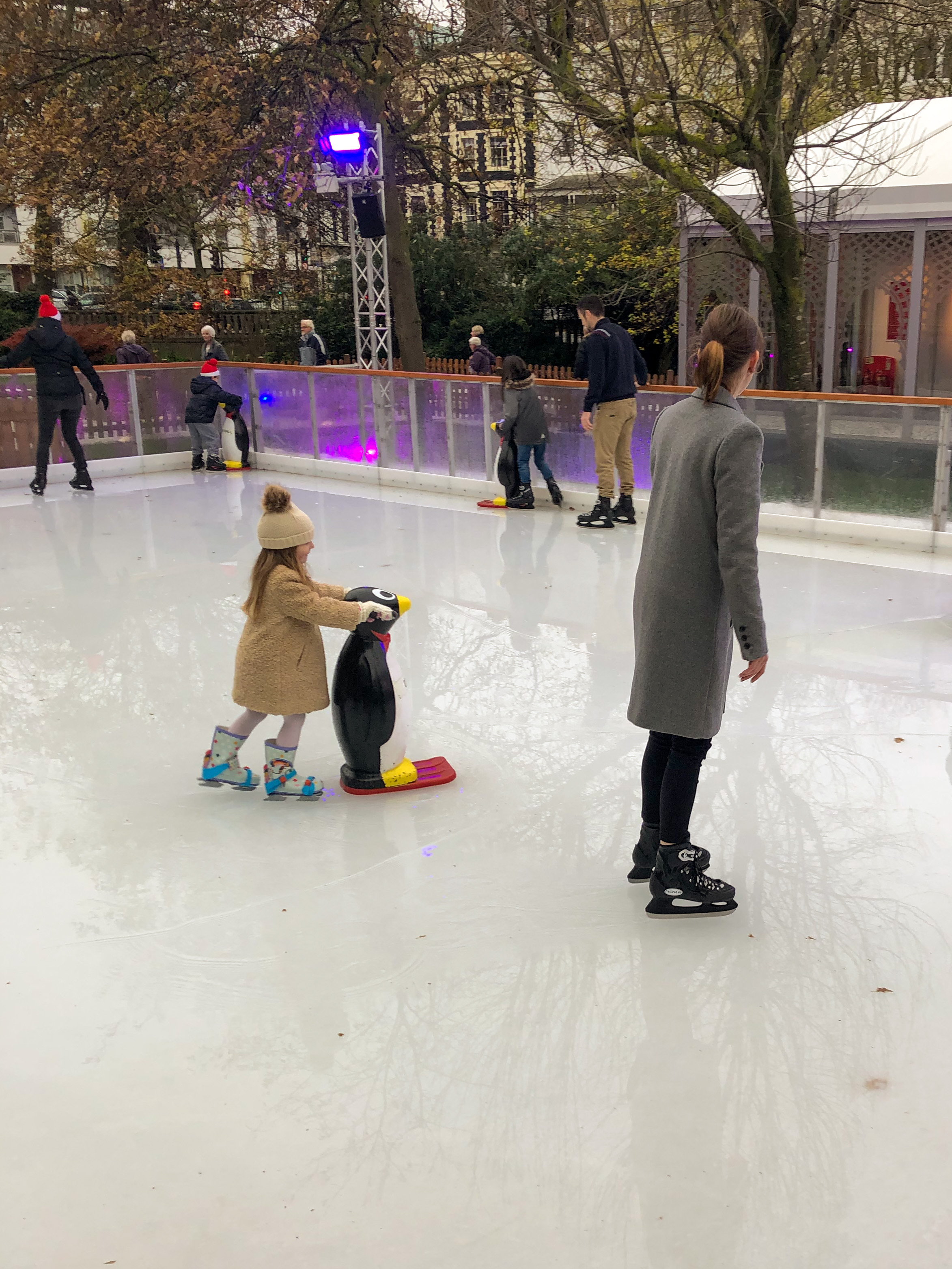 ice skating in brighton