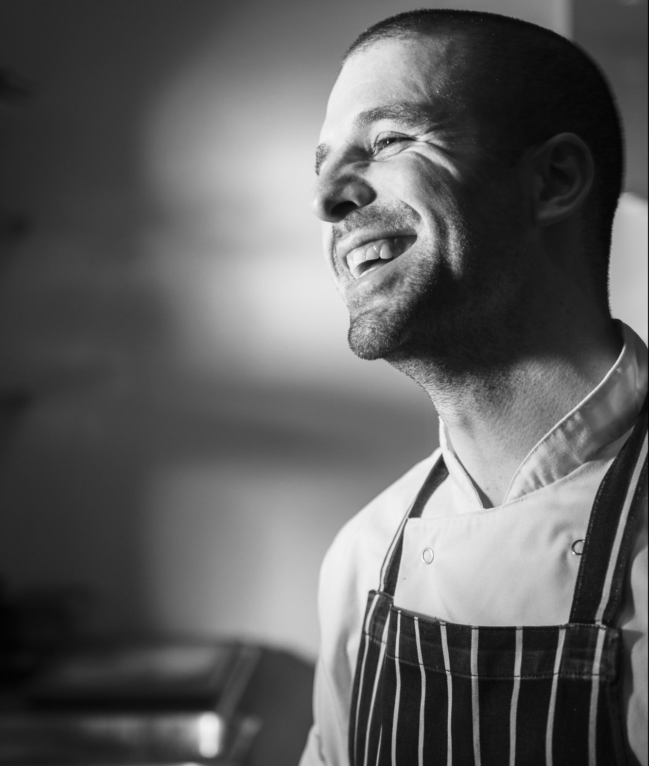 lawrence mccarthy head chef at salt room brighton