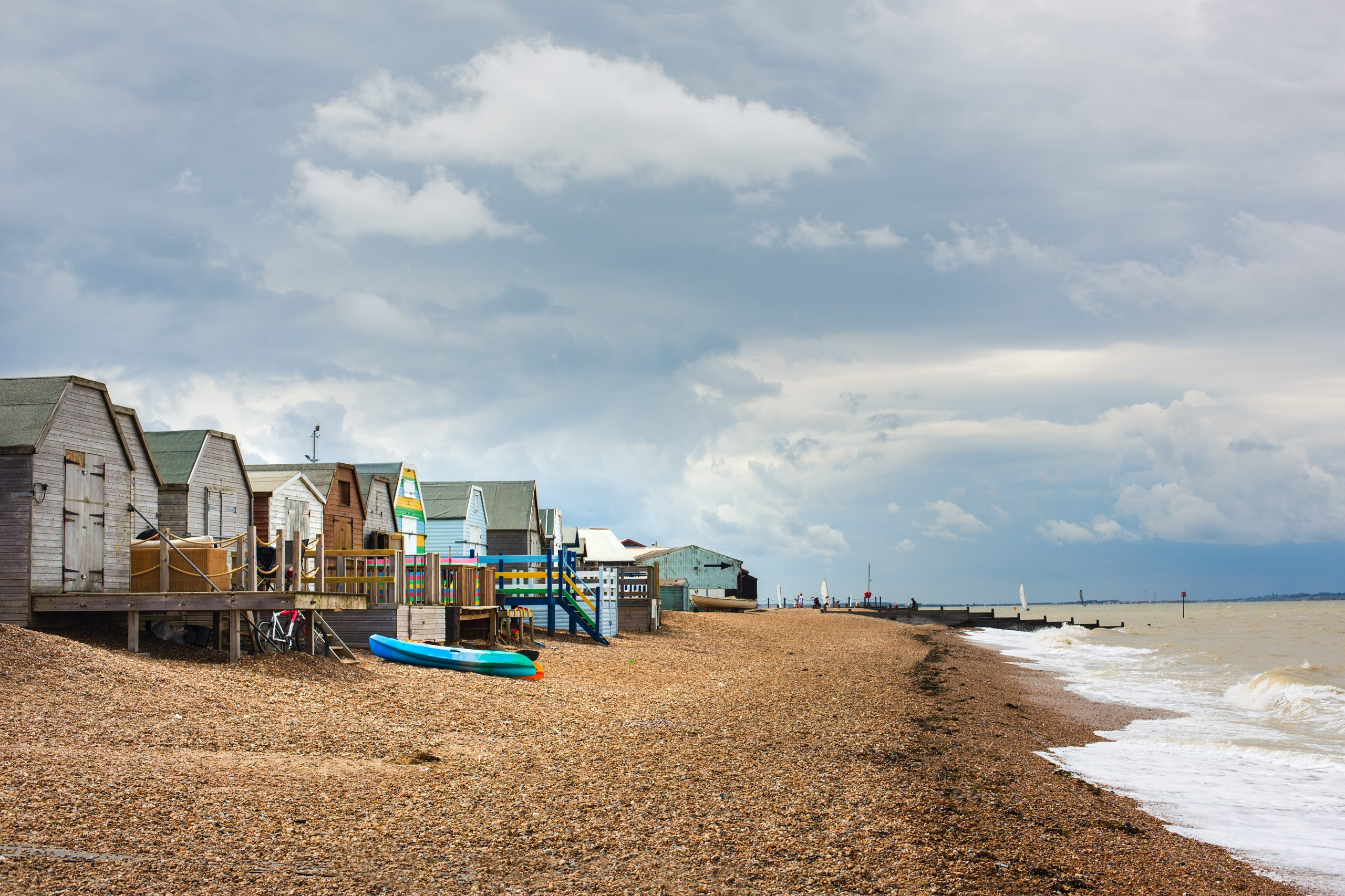beach huts whitstable kent