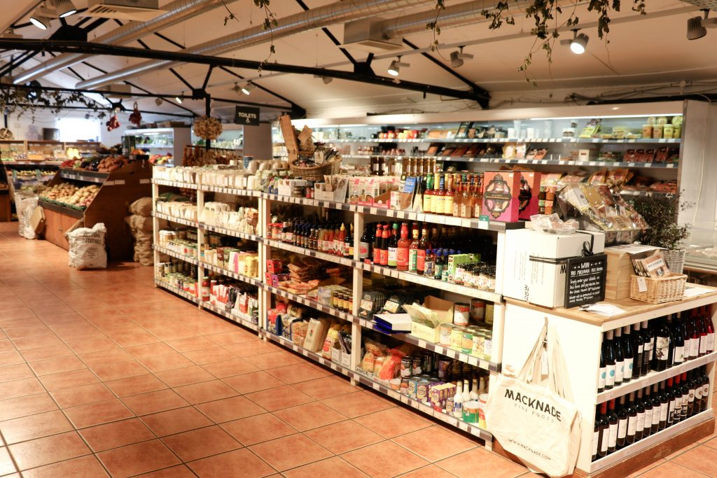 macknade fine food hall in kent