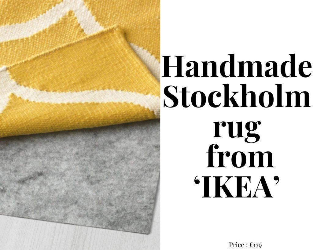handmade stockholm rug ikea