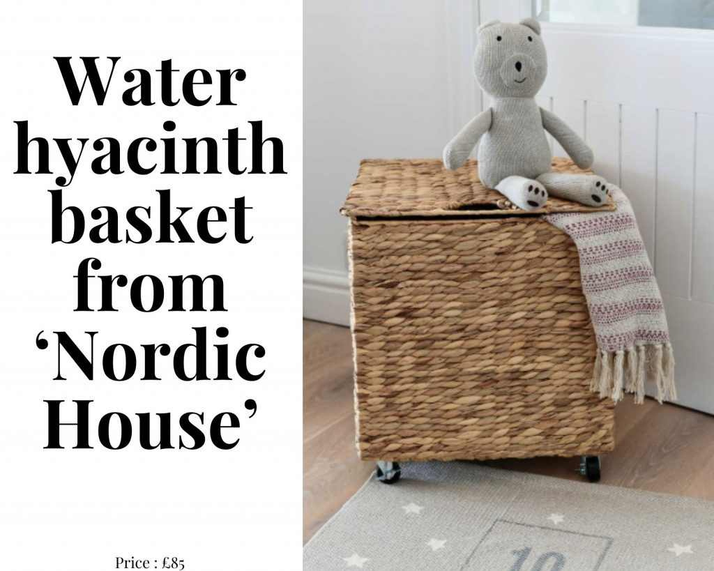 water hyacinth basket nordic house