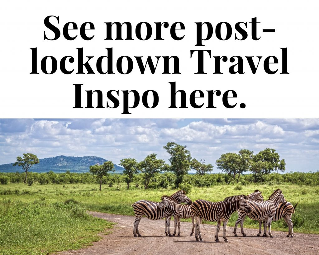 post lockdown travel idea
